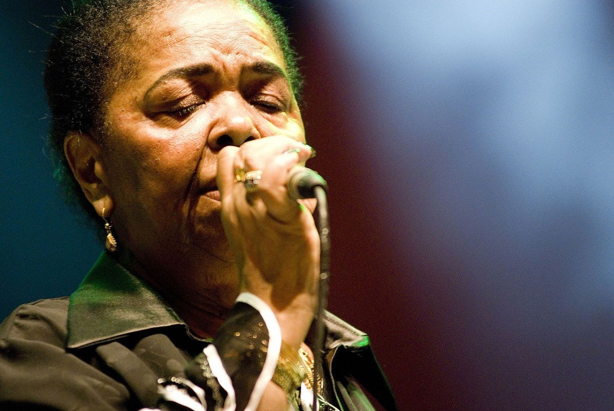 Her music is my medicine. Cesaria Evora.